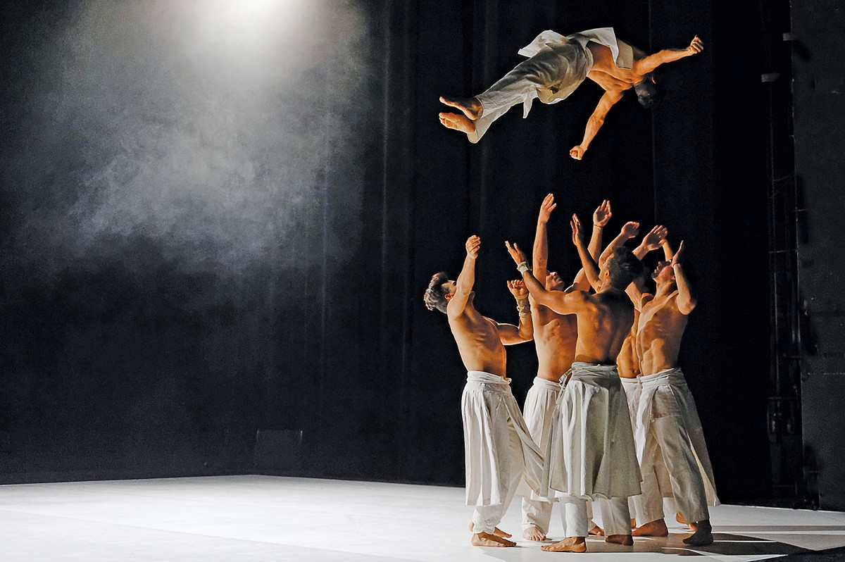 The French dance company Cie Hervé Koubi performs at the Ohio Theatre. See: Saturday.