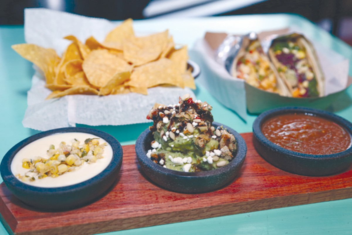 Guac and Queso at Barrio