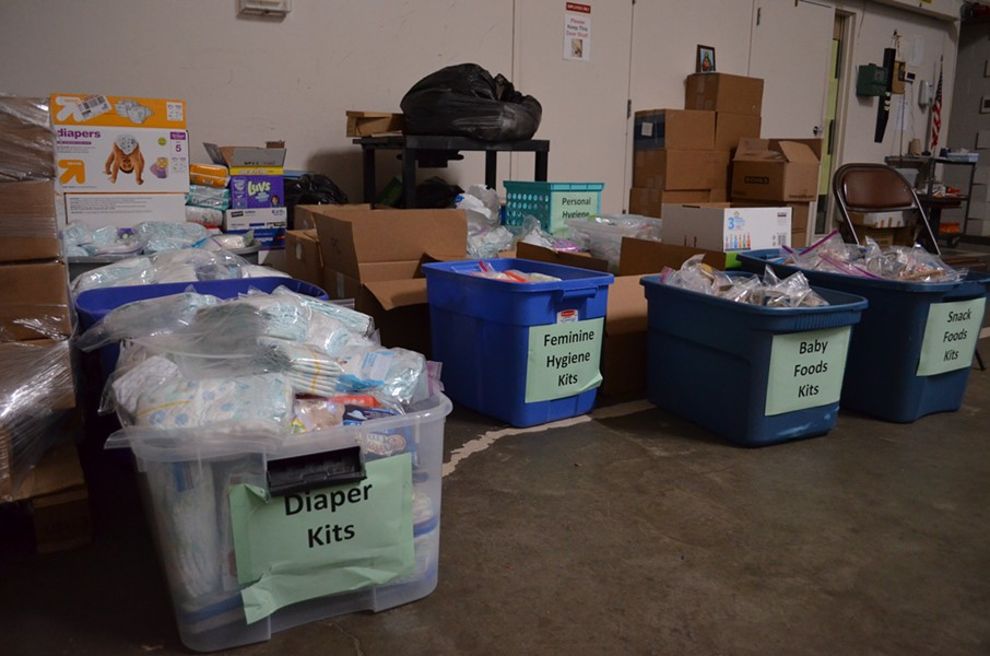 The City Mission is turning toward donations for the families sleeping there each night. - ERIC SANDY / SCENE
