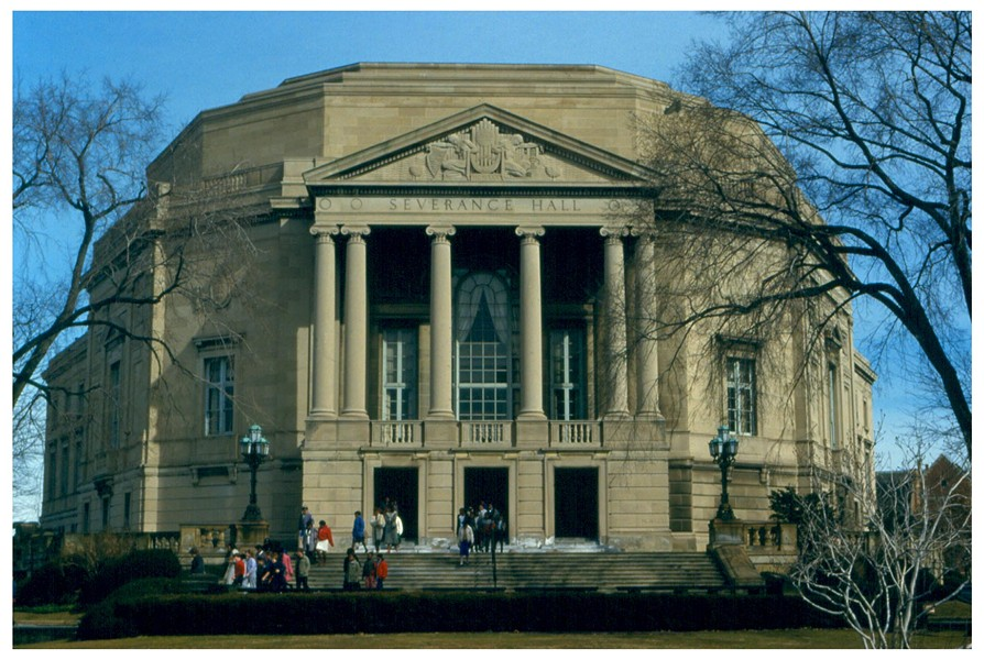 Severance Hall, home of the Cleveland Orchestra - PHOTO VIA WIKIMEDIA COMMONS