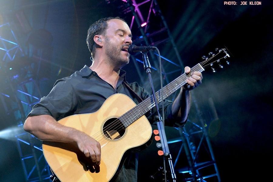 Dave Matthews Band performing at Blossom in 2015. - JOE KLEON