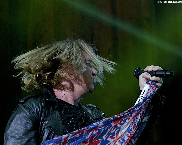 Def Leppard performing at Blossom in 2016. - JOE KLEON