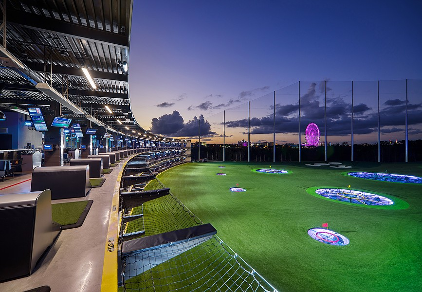 COURTESY TOPGOLF