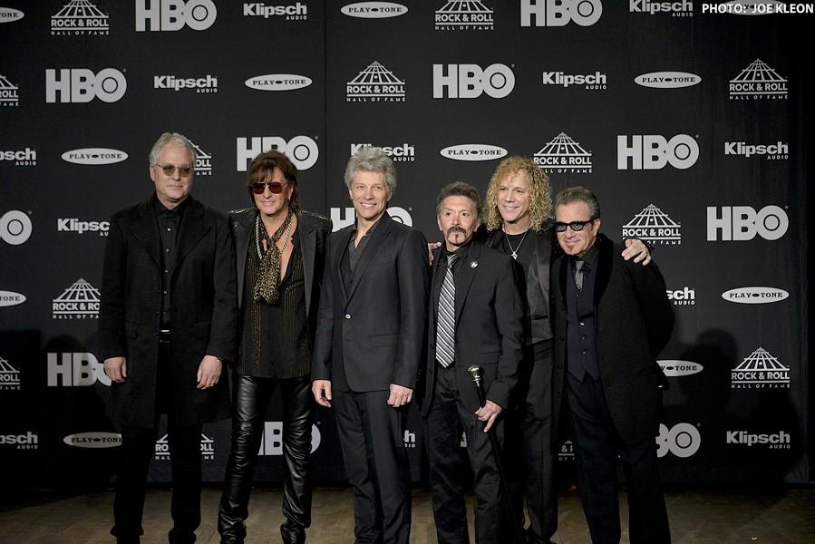 Bon Jovi, finally inducted. - JOE KLEON