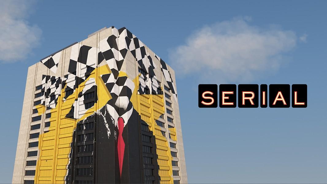 MOTH STUDIO (BUILDING) / ADAM MAIDA (MURAL) / COURTESY: SERIAL