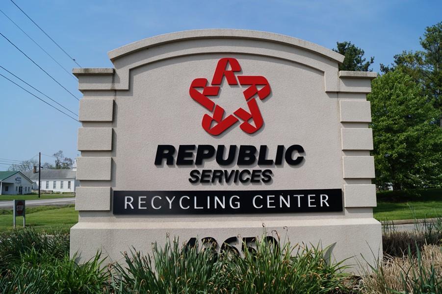 Republic Services Recycling Center, (5/18/19). - SAM ALLARD / SCENE