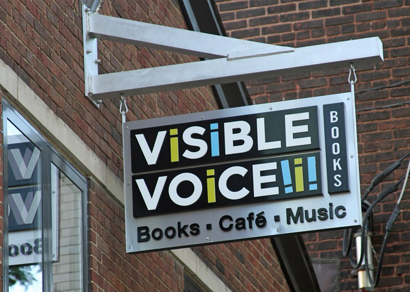 COURTESY OF VISIBLE VOICE BOOKS