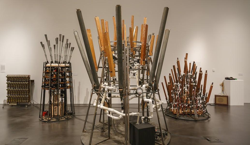 Mark Mothersbaugh: Myopia, installation view. - COURTESY OF THE MUSEUM OF CONTEMPORARY ART DENVER