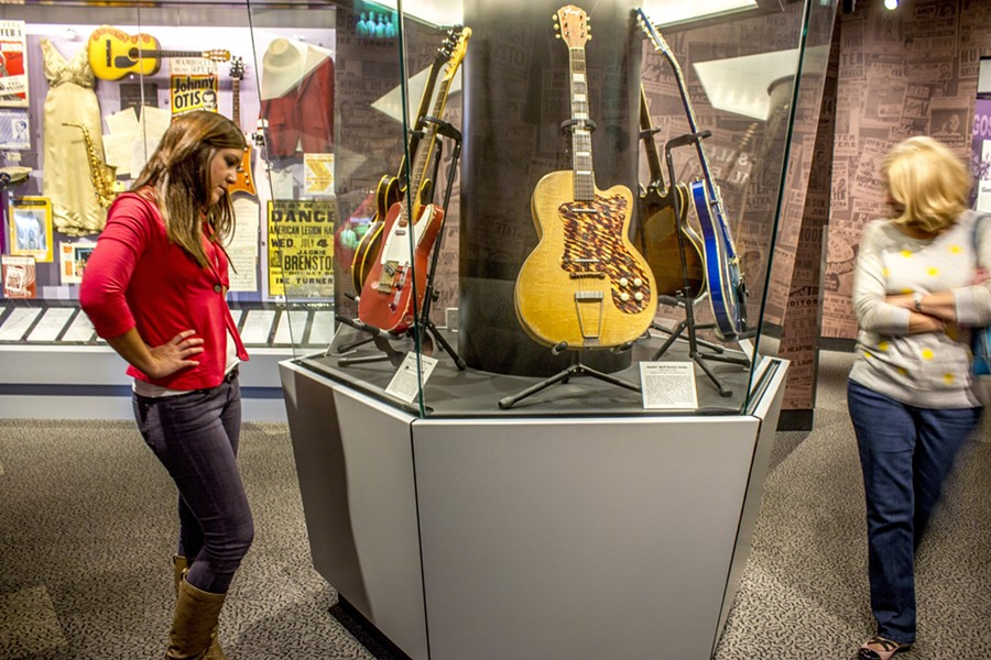 COURTESY OF THE ROCK AND ROLL HALL OF FAME AND MUSEUM