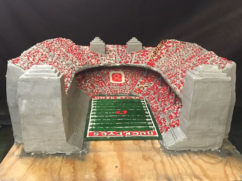 OHIO STADIUM CAKE CREW FB
