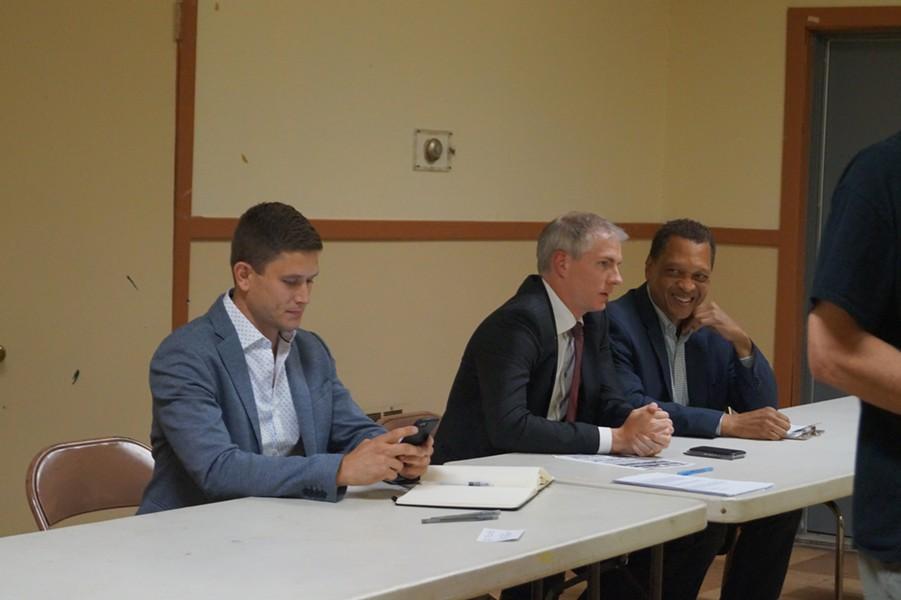 Mayoral Candidate Forum, Clark-Fulton VFW (6/26/17) - SAM ALLARD / SCENE