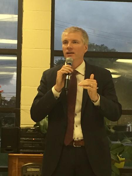 Brandon Chrostowski; Mayoral Candidates' Forum 7/24/17 - SAM ALLARD / SCENE
