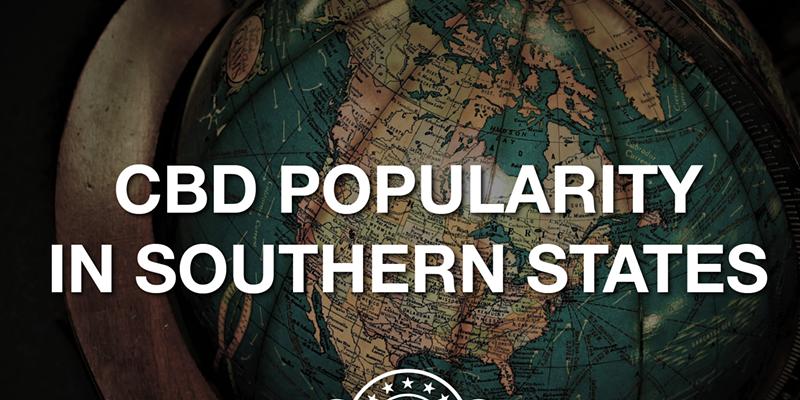 CBD Popularity in Southern U.S. States