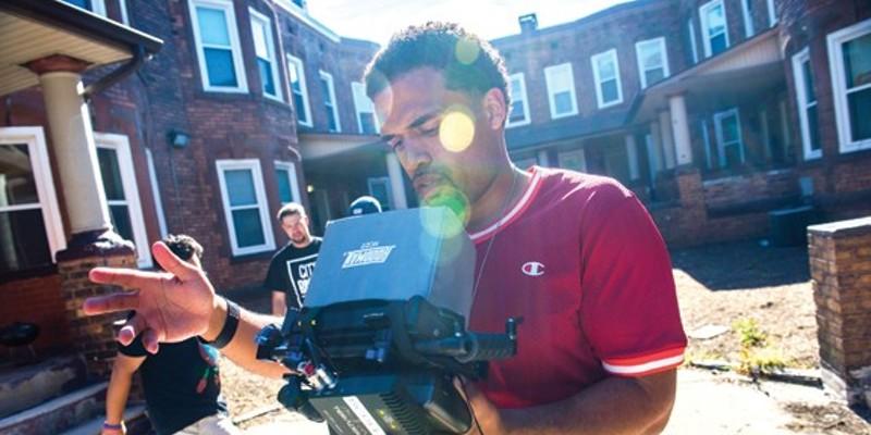 Steven Caple, Jr., directing in Cleveland