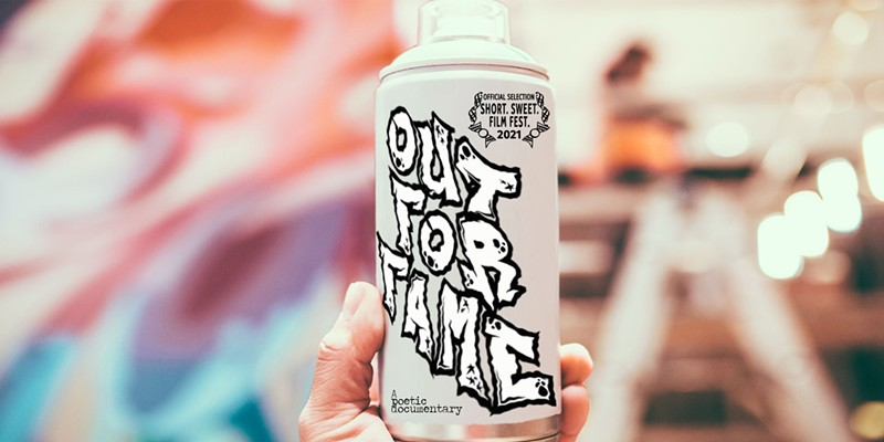 """Local Filmmaker Debuts """"Out For Fame,"""" A Short Film on the Ethos of Graffiti Art"""