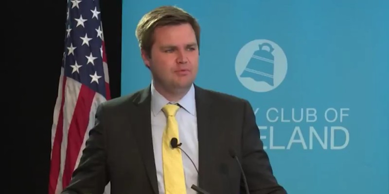 Vance at the City Club in 2017.