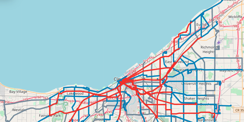 RTA Revamps Network to Increase Frequency on Popular Routes. The Interactive Map is Dope.
