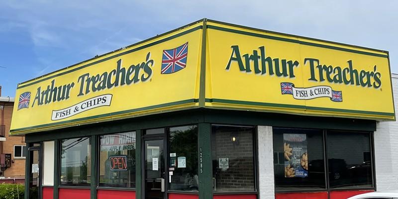 Arthur Treacher's in Garfield Heights.