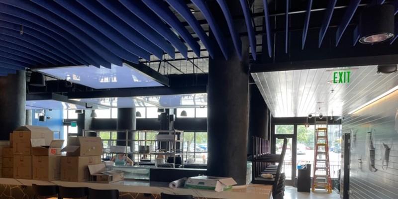 The new, open design at Goma