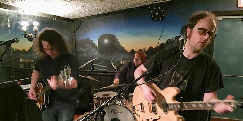 Alan Madej and his band