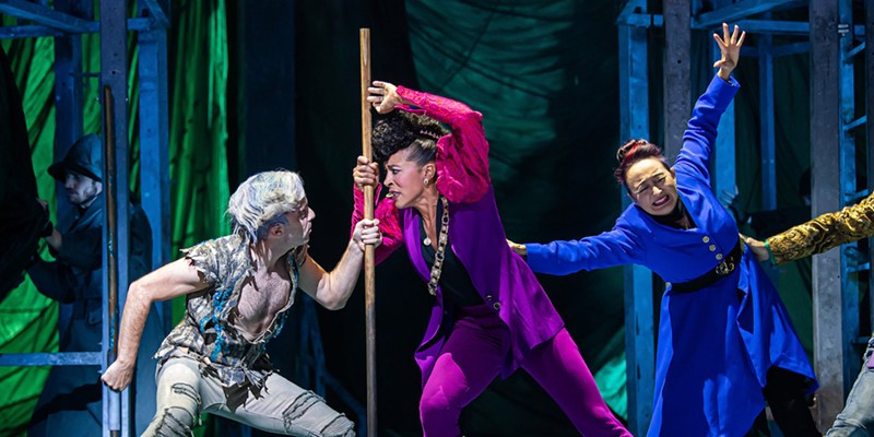The Tempest, now on stage at Great Lakes Theater