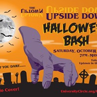 The Uptown Upside Down Halloween Bash