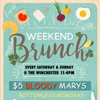 WEEKEND BRUNCH @ THE WINCHESTER