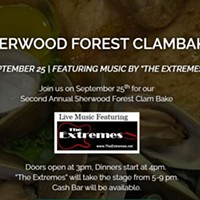 2nd Annual Clam Bake Featuring The Extremes!