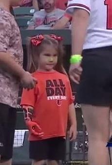 A 7-year-old Hailey Dawson