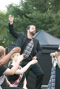 """The Cleveland Shakespeare Festival produced """"Macbeth"""" last summer."""