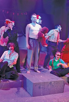 It's time for Christmas merriment with the ensemble cast at Blank Canvas.