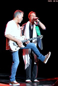 Van Halen performing at Blossom in 2015.