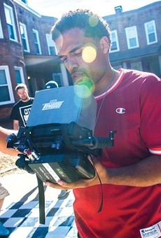 Steven Caple, Jr., directing in Cleveland