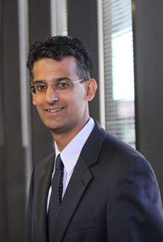 Baiju Shah, the head of the Greater Cleveland Partnership