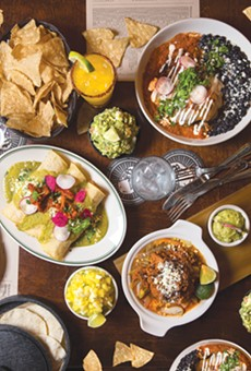 Some of the delicious offerings at El Carnicero.