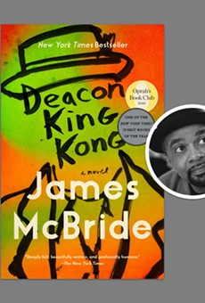 """James McBride won in the fiction category for """"Deacon King Kong"""""""
