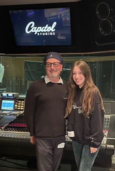 Producer Brian Malouf and singer-songwriter Gina Brooklyn.