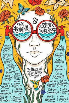 Poster art for the Accidentals tour.
