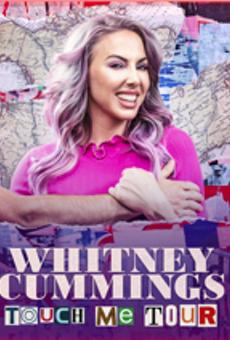 Poster art for Whitney Cummings' upcoming tour.