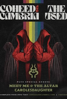 Coheed and Cambria and the Used To Play Jacobs Pavilion at Nautica in September