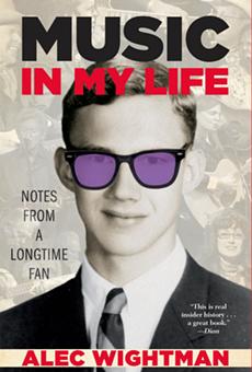 Cover art for Alec Wightman's new memoir.