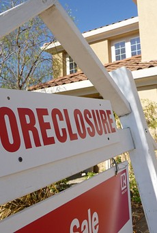 Ohio saw the highest increase in foreclosure actions last month, and Cleveland led major metro areas