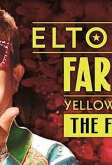 Poster art for Elton's John tour.