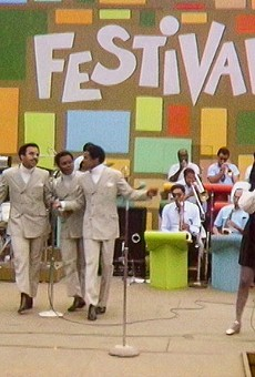 """Gladys Knight & the Pips sing """"I Heard It Through the Grapevine"""" at the 1969 Harlem Cultural Festival."""