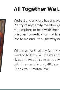 revitaa pro weight loss supplement