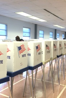 Creative ways of getting people interested in voting might be on the chopping block