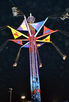 A ride at the Trumbull County fair