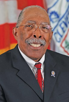 Ken Johnson, 37 years on Cleveland city council.