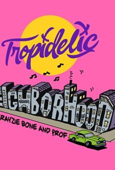 Artwork for Tropidelic's new single.