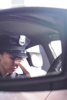 The stress police officers experience can result in serious health complications, such as PTSD.
